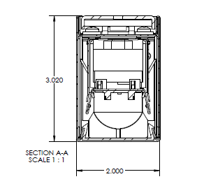 lighting architecture diagram phone line wire alcon 12100 23 w continuum series architectural led linear wall mount direct