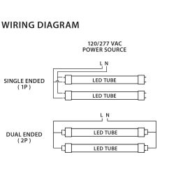 neptun led 88026 unv led 4 foot 26 watt t8 tube light fluorescent [ 1454 x 1121 Pixel ]