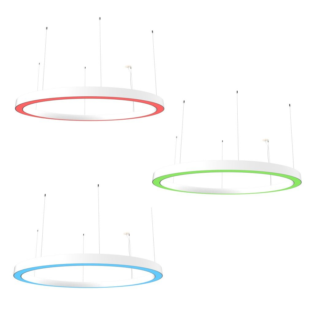 Betacalco Ring Static Color Direct White Indirect Led