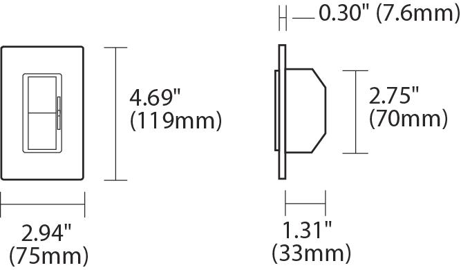 Alcon Lighting 2105 Viva Incandescent 600W Single Pole 3