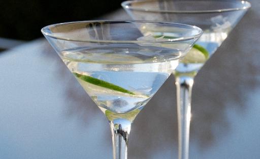 Текила қосылған Martini Cocktail