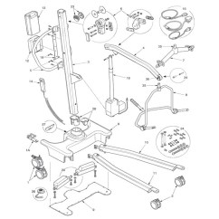 Power Lift Chair Repair Metal Arm Covers Alco Sales & Service Co - Medical Equipment, Parts, Casters Repairs