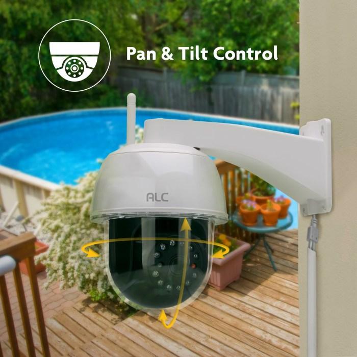 AWF53 Outdoor Pan-Tilt Camera - ALC Wireless