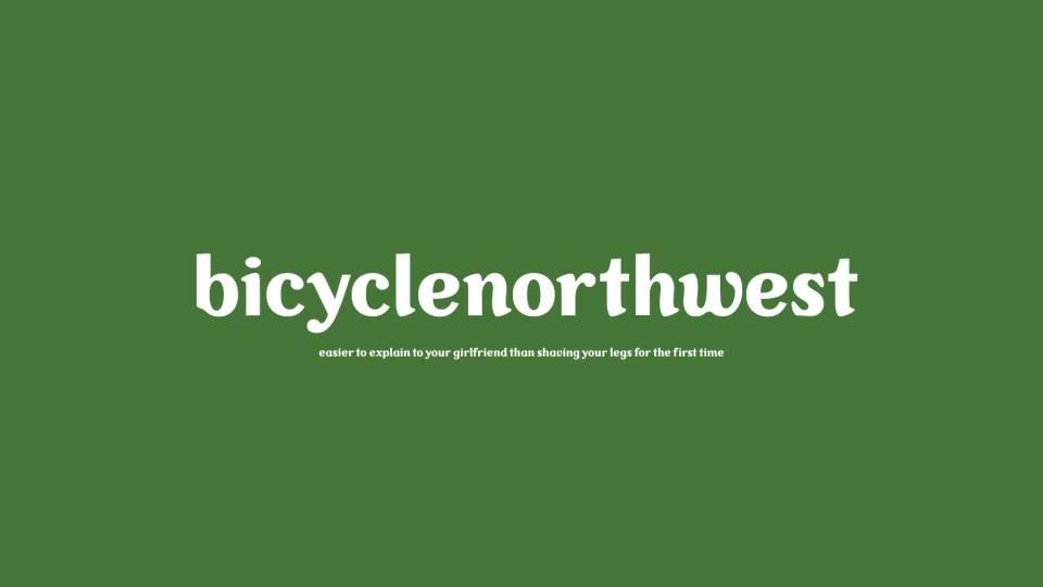 Logo Design: bicyclenorthwest bike news site, Seattle, Washington