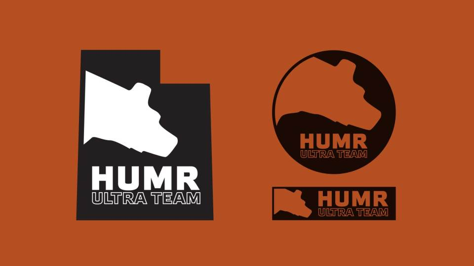 Logo Design: HUMR Ultra Running Team, Ogden, Utah