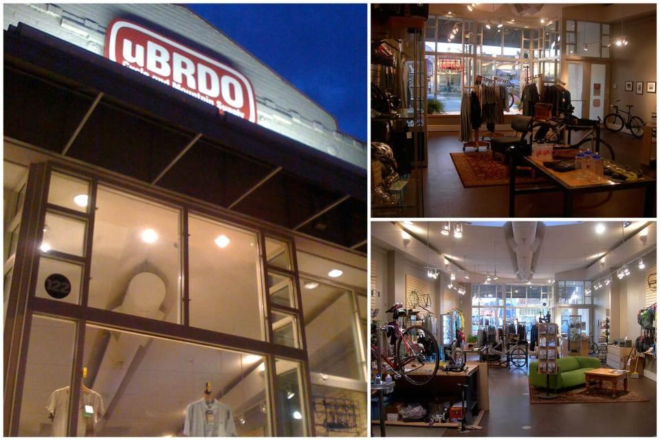 Client: uBRDO Kirkland, Washington Retail Space Environmental, and Print Design