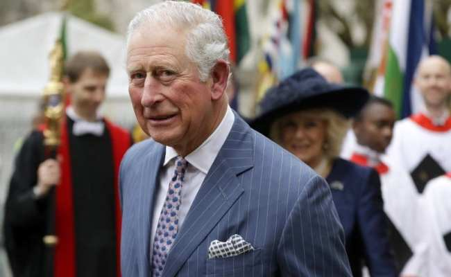 Britain S Prince Charles Tests Positive For New
