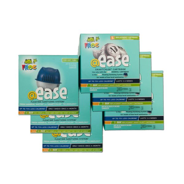 Combo Pack Frog Ease 12 Month Supply - Alden Pools & Play