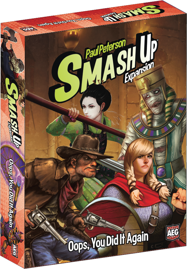 Smash Up: Oops You Did It Again -  Alderac Entertainment Group