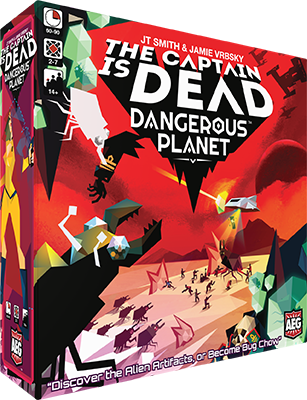 Dangerous Planet: The Captain is Dead -  Alderac Entertaiment Group