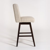 Tribeca Swivel Bar Stool  Alder & Tweed Furniture