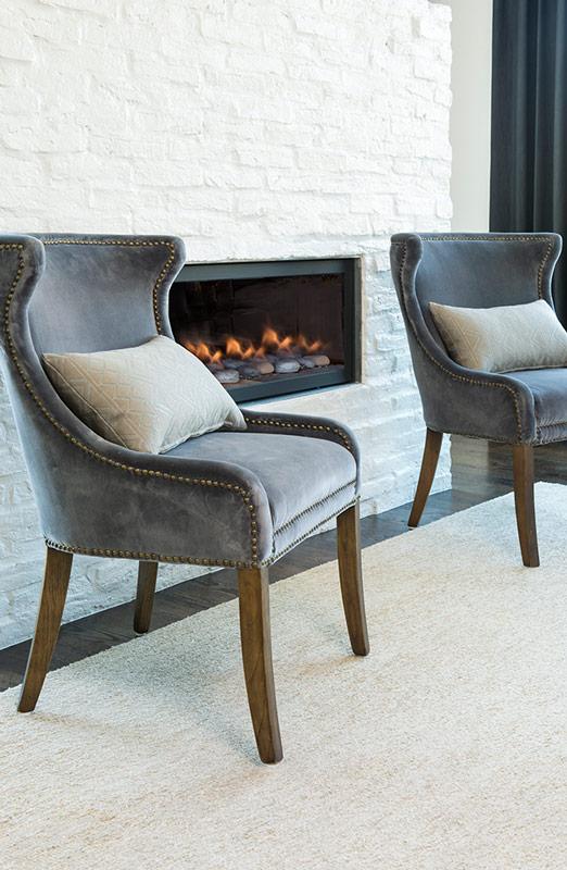 Bellevue Dining Chair  Alder  Tweed Furniture