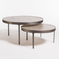Dover Nesting Coffee Tables  Alder & Tweed Furniture