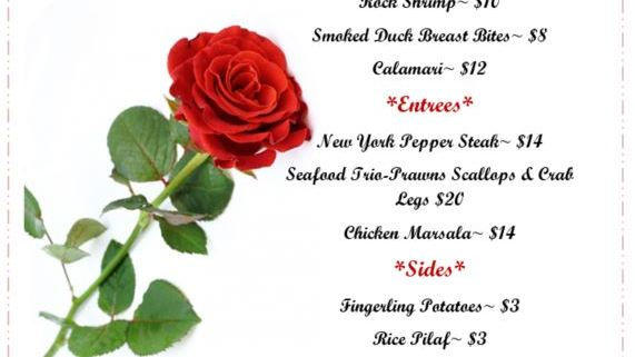 Love Is In The Air At Our Valentines Day Dinner Alderbrook Golf Course