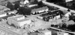 Aerial View of the Aldergrove Hotel