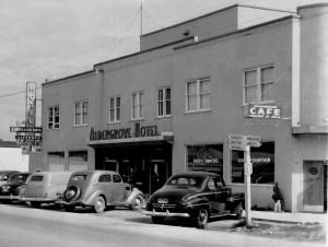 Aldergrove Hotel 1950