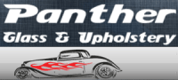 panther glass and upholstery
