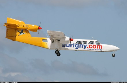 An Aurigny Trislander, we love them a workhorse which with the Dorniers keep the island running.