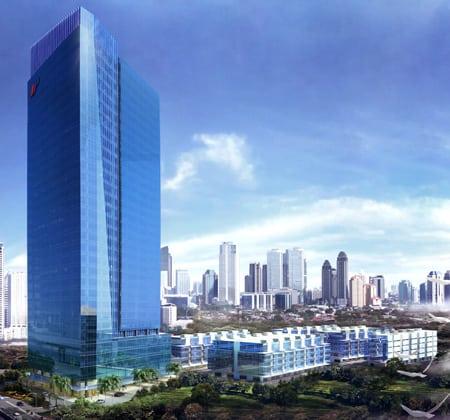 Altira Tower - Altira Business Park - Yos Sudarso, Jakarta Indonesia - PT Impack Pratama Industri Tbk