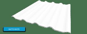 Alderon warna matte white - putih solid