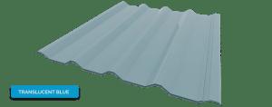 Alderon warna translucent blue - biru bening