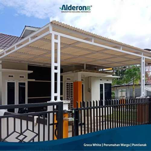 Model Atap Kanopi untuk Carport Teras Rumah - Alderon RS