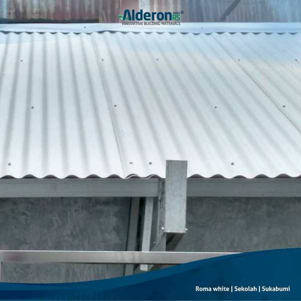 alderon rs roma putih aplikasi atap sekolah di sukabumi