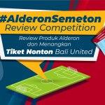 Review Produk Alderon & Menangkan Tiket Nonton Bali United!