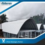 Aplikasi Alderon untuk Atap Lengkung