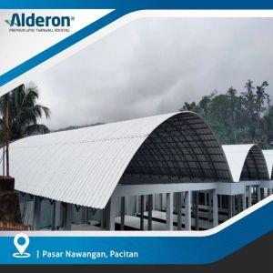 Desain Atap Lengkung Alderon Twinwall
