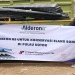 Impack Pratama Salurkan Donasi Pelestarian Elang Bondol