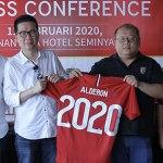 Alderon Resmi Jalin Kerjasama dengan Bali United