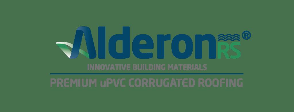 logo alderon rs premium upvc cirrugated roofing