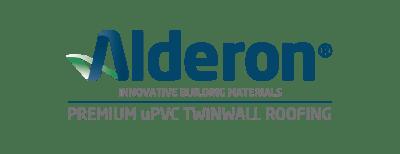 logo alderon premium upvc twinwall roofing