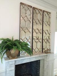 Original Decorative Architectural Window Frame Mirrors ...