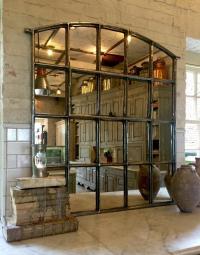 Polished Interior Slow Arch Window Mirror polished ...