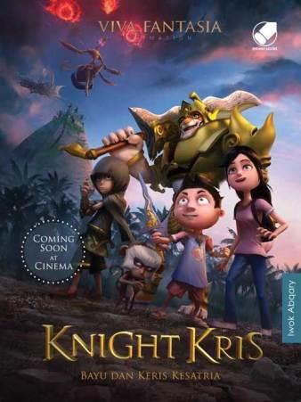 Sinopsis dan Trailer Film Animasi Knight Kris 2017 Deddy Corbuzier