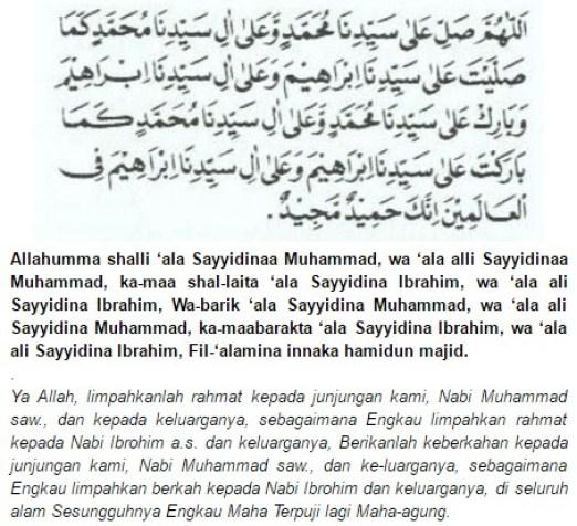 Bacaan Shalawat Nabi Lengkap Beserta Terjemahannya