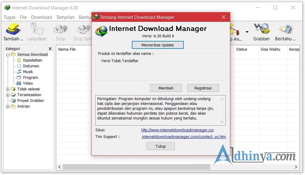 Download (IDM) Internet Download Manager v6.30 Build 6 Update Terbaru Full Crack