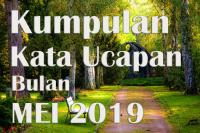 Kata Mutiara Bijak Doa Harapan Menyambut Awal Bulan Mei 2019
