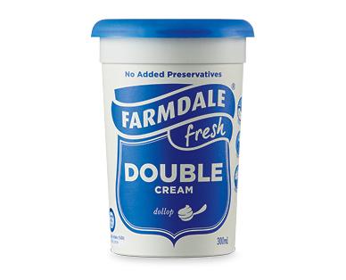 Farmdale Double Cream 300ml ALDI Australia