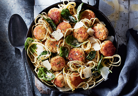Lemon Herb Chicken Meatballs  ALDI Australia