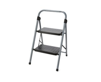 Easy Home Two-Step Folding Step Stool View 1