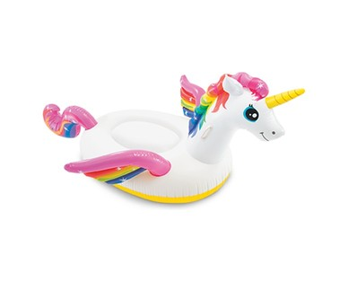 Intex Inflatable Ride On Flamingo or Unicorn View 1