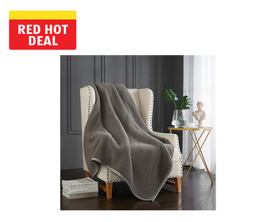 "Huntington Home 50"" x 70"" Feather-Soft Throw View 1"