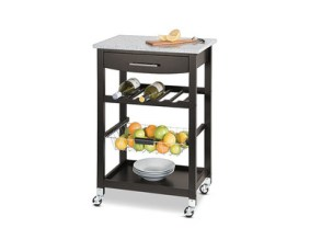 SOHL Furniture Kitchen Island with Granite Top View 1