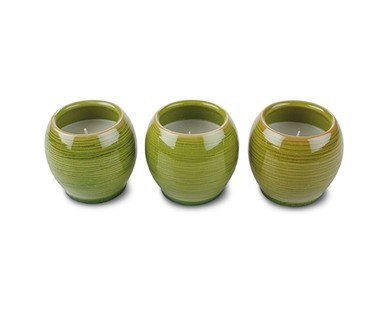 Gardenline 3 Pack Citronella Candles View 1