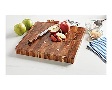 Crofton Chef's Collection Acacia Chopping Block View 1