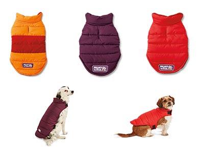 Heart to Tail Reversible Pet Fleece Puffer Jacket View 3