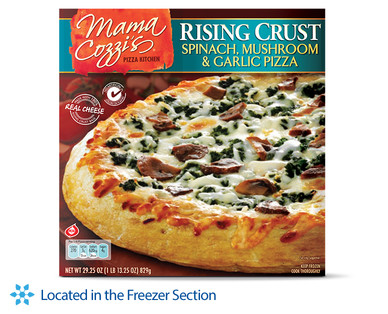 Mama Cozzi's Pizza Kitchen Spinach, Mushroom & Garlic Rising Crust Pizza